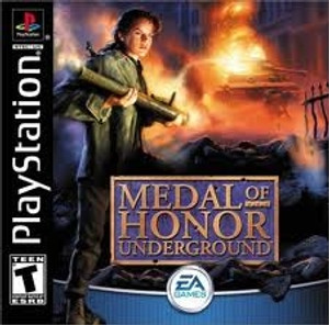 Medal of Honor:Underground - PS1 Game