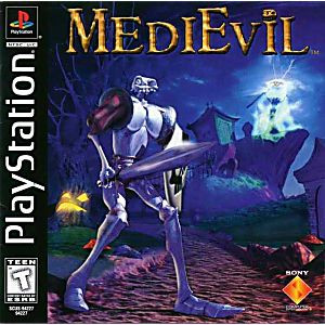 MediEvil - PS1 Game