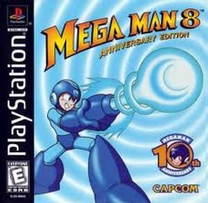 Mega Man 8 Anniversary Edition - PS1 Game