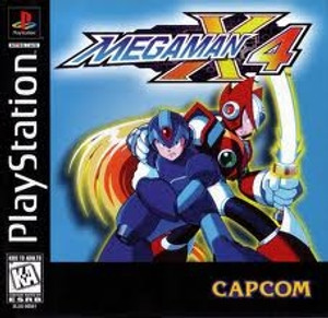 Mega Man X4 - PS1 Game
