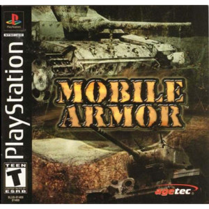 Mobile Armor Video Game For Sony PS1