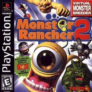 Monster Rancher 2 - PS1 Game