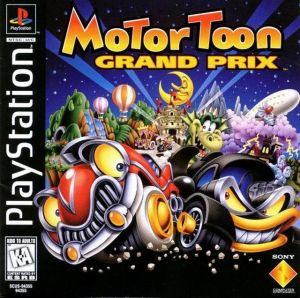 Motor Toon Grand Prix - PS1 Game