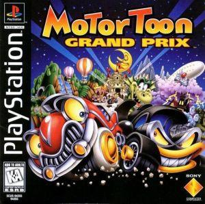 Motor Toon Grand Prix - PS1 Game