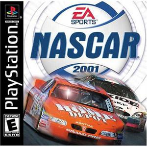 Nascar 2001 Racing - PS1 Game