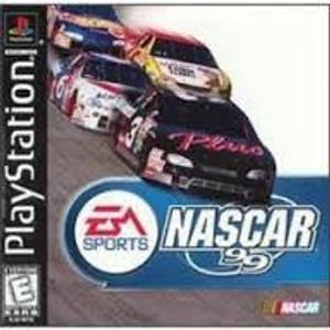 Nascar 99 Racing - PS1 Game