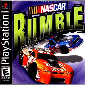 Nascar Rumble Video Game For Sony PS1