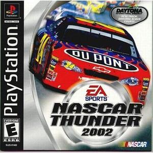 Nascar Thunder 2002 - PS1 Game