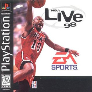 NBA Live 98 - PS1 Game
