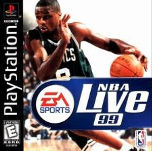 NBA Live 99 - PS1 Game