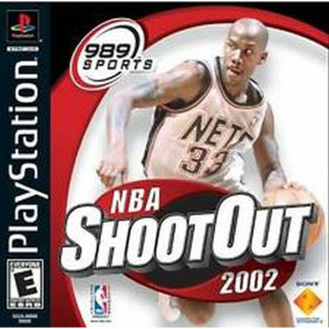 NBA ShootOut 2002 - PS1 Game