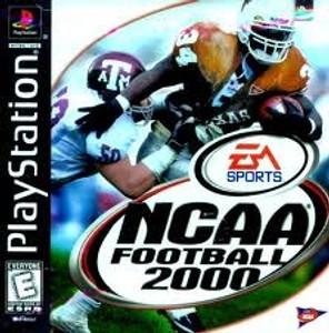 NCAA Football 2000 - PS1 Game
