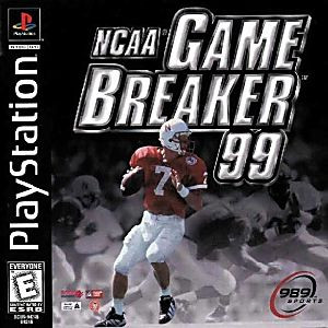 NCAA Game Breaker 99 - PS1 Game