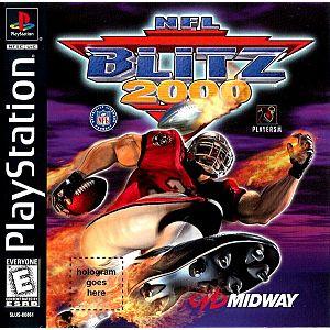 NFL Blitz 2000 Football - PS1 Game