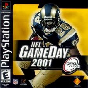 NFL Game DAY 2001 - PS1 Game