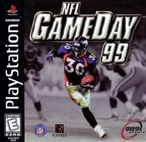 NFL GameDay 99 Game - PS1 Game