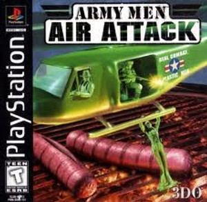 Army Men Air Attack - PS1 Game