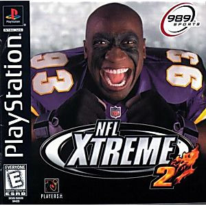 NFL Xtreme 2 - PS1 Game