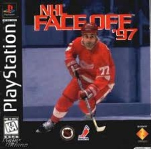 NHL Face Off 97' - PS1 Game