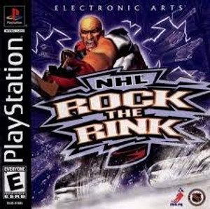 NHL Rock The Rink - PS1 Game