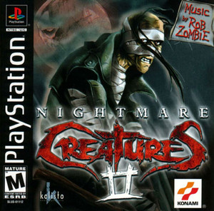 NIGHTMARE CREATURES II (2) - PS1 Game