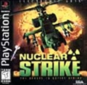 Nuclear Strike - PS1 Game