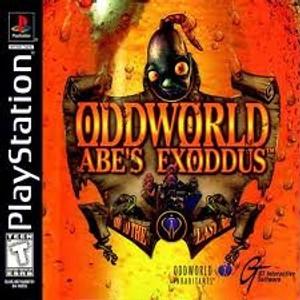 Oddworld Abe's Exoddus - PS1 Game