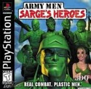 Army Men:Sarge's Heroes - PS1 Game