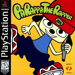PaRappa The Rapper - PS1 Game