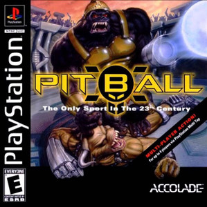 PitBall Sports Video Game For Sony PS1