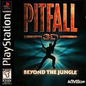 Pitfall 3 D - PS1 Game