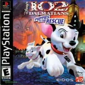 102 Dalmations - PS1 Game