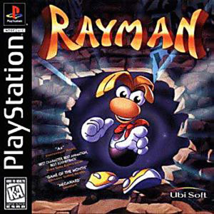 Rayman (Ray Man) Video Game For Sony PS1 Game