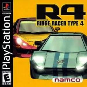 Ridge Racer Type 4 R4 - PS1 Game