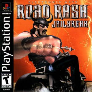 Road Rash:Jailbreak - PS1 Game