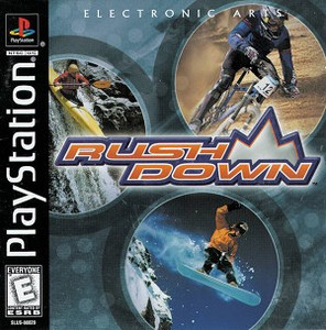 RUSH DOWN - PS1 Game
