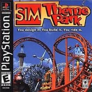 Sim Theme Park - PS1 Game