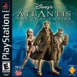 Atlantis The Lost Empire - PS1 Game