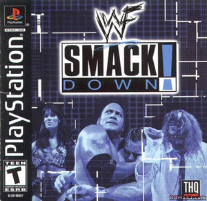 SMACK DOWN - PS1 Game