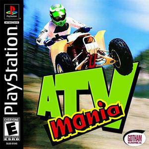 ATV Mania Racing - PS1 Game