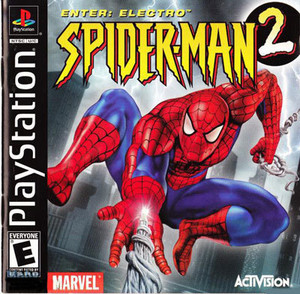 Spider-Man 2 Enter:Electro - PS1 Game