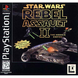 Star Wars Rebel Assault II - PS1 Game
