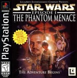Star Wars:The Phantom Menace - PS1 Game