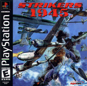 Strikers 1945 - PS1 Game