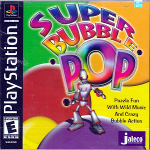 Super Bubble Pop Video Game For Sony PS1