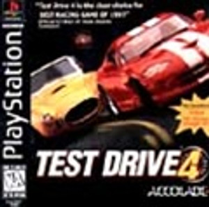Test Drive 4 - PS1 Game