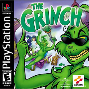 The Grinch Video Game For Sony PS1