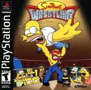 Simpsons Wrestling, The - PS1 Game