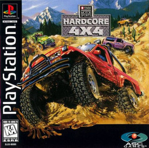 TNN Motor Sports Hardcore 4x4 - PS1 Game