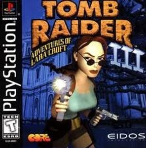 Tomb Raider III (3) - PS1 Game